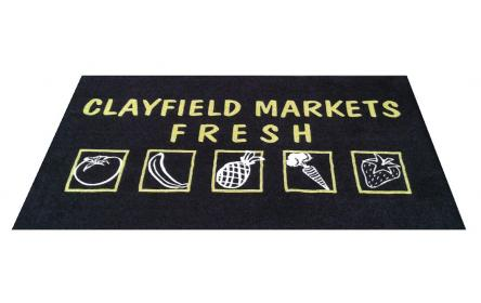 Check out our carpet dyed logo mats, made using nylon twist pile carpet & 100% rubber nitrite. These mats can be hosed, dry cleaned or machine washed. Suitable as a single or double doorway entrance mats & ideal for both indoor & outdoor use.
