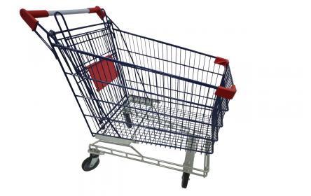 Powder Coated Shopping Trolley