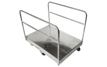 Easily transport large bulky items & flat packs with our extra large galvanised sheet stock trolley. With 600kg capacity, deck size of 1140mm x 800mm & 6 wheel configuration, its the stock trolley built for retail, furniture stores & warehouses.