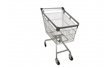 Uniquely designed grocery shopping trolley for sale. With 360 degrees manouverability & 120 litre capacity, its suitable for supermarkets, fruit shops & retail stores. Its lightweight design makes shopping convenient. Enquire today!