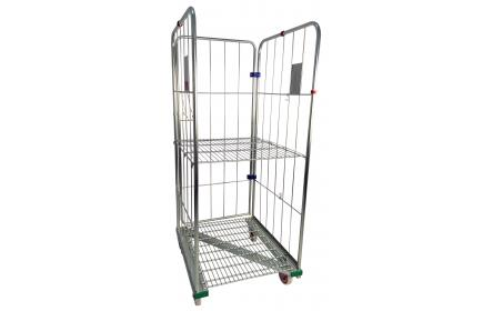 Make materials handling convenient & injury free with our 3 side roll cage trolley. It's nestable z frame design & 400kg capacity is the ideal solution for storage & stock distribution within the warehouse, backroom & shopfront. Enquire now!
