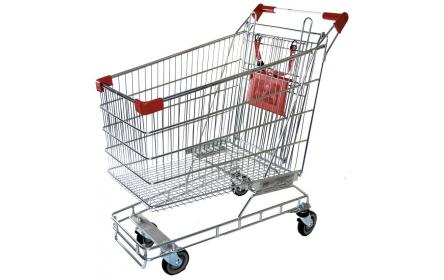 Check out our supermarket shopping trolley for sale at the lowest price. With 160L capacity, its perfect for busy supermarkets, fruit shops & retail stores. It comes with child seat, restraint and 4 x TPE castors. Available now, ships Australia wide!