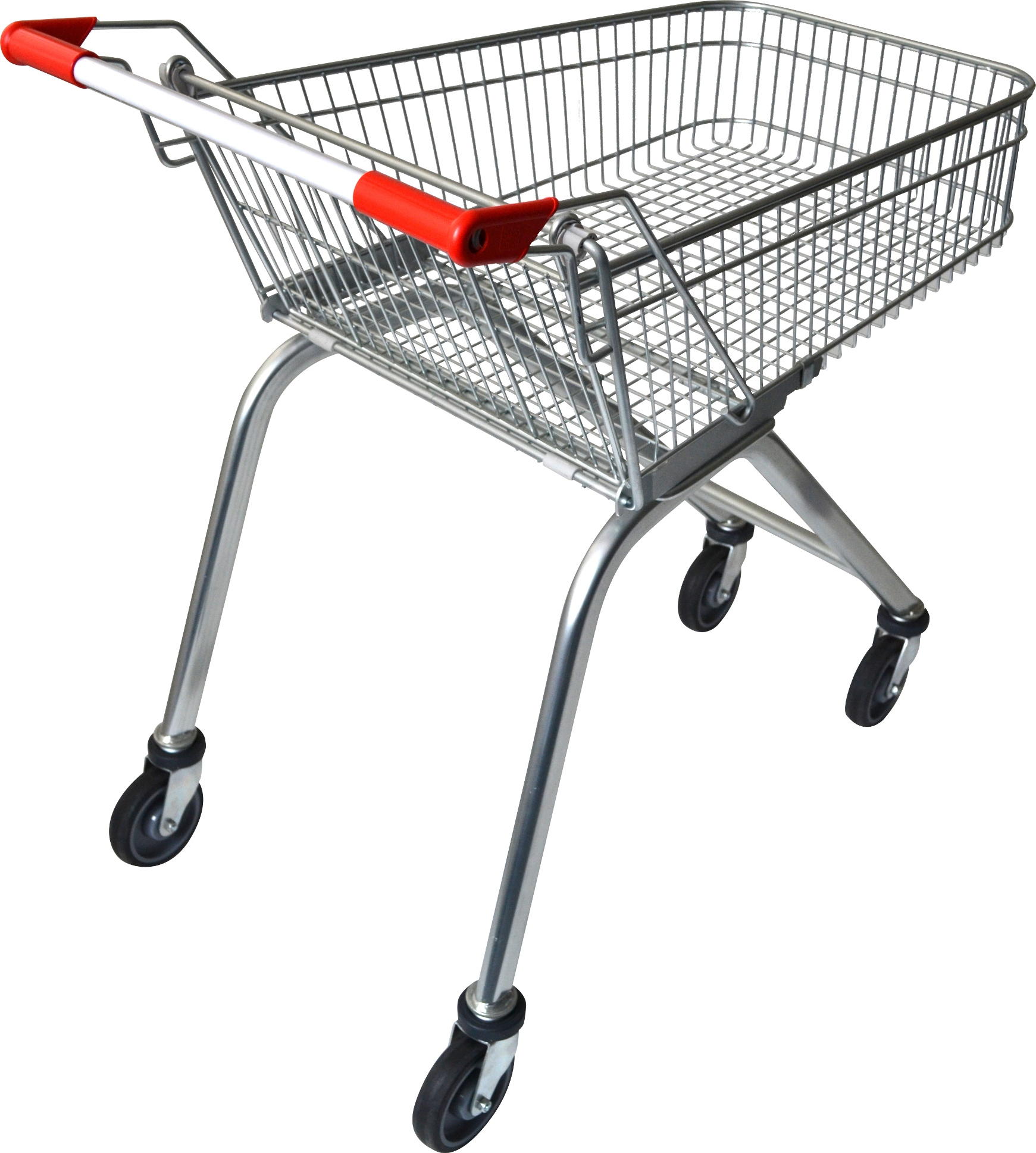 This 70 litre supermarket shopping trolley is smaller than the usual supermarket trolleys, it offers convenience for light shoppers in any retail stores and makes shopping & checkout easy. Enquire today, ships Australia wide!