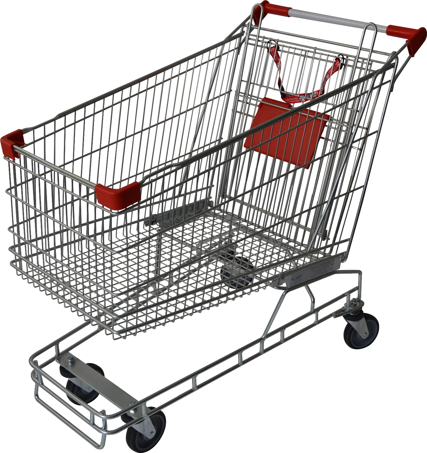 Large size grocery shopping trolley for sale. With 212 litre capacity, its suitable for supermarkets, fruit shops & retail stores. It comes with child seat, restraint & 4 x TPE castors. Available now, ships Australia wide!