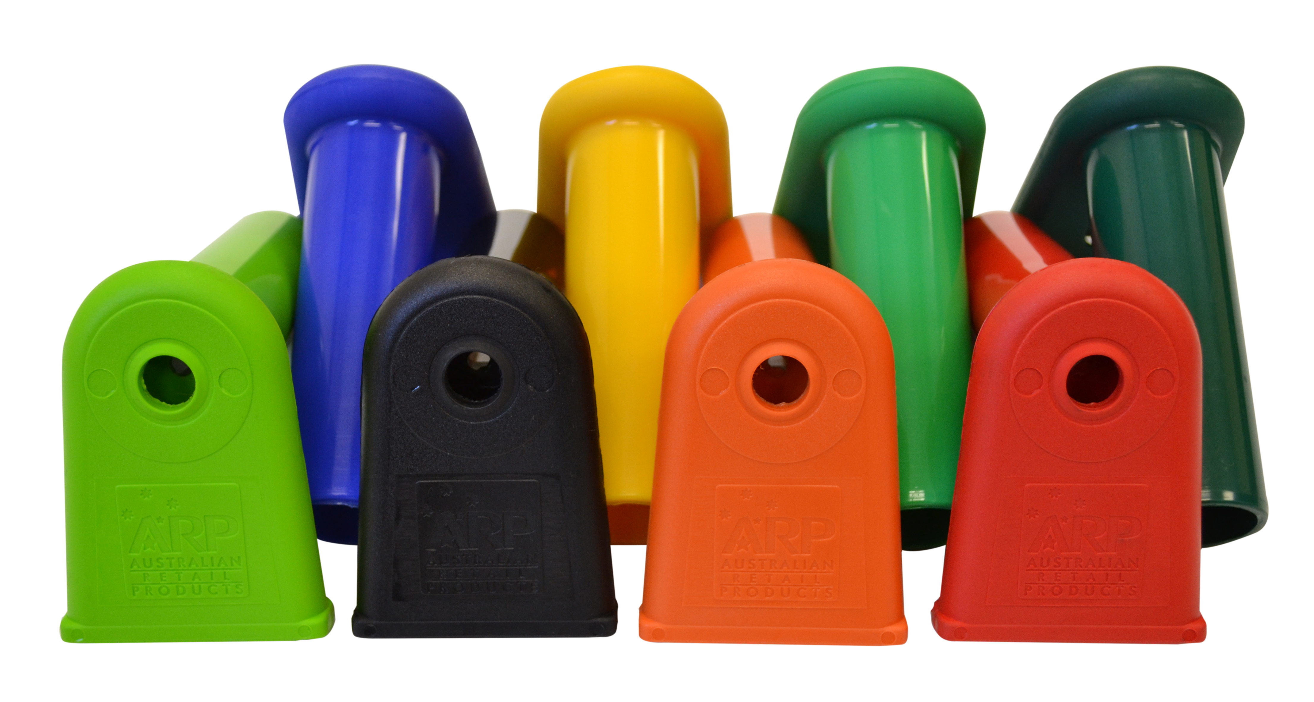 View our range of shopping trolley security handle end caps, made in Australia from UV protected platics. Available in a variety of colours & suits most supermarket shopping trolleys. Check it out now, ships Autralia wide!